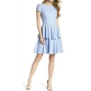 Gal Meets Glam Daisy Lace Tiered Dress